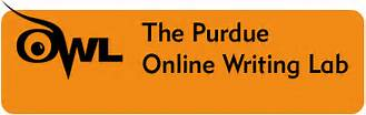 link to Purdue Owl Writing Lab